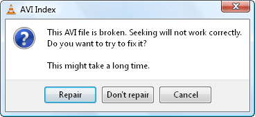 VLC cant play